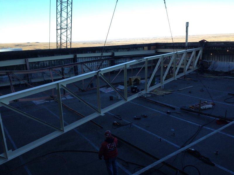 Turbine Roof Replacement Industrial Contractors Inc