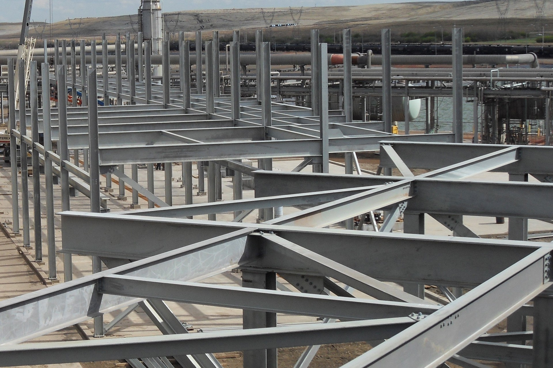 Structural Steel Contractors Industrial Contractors Inc